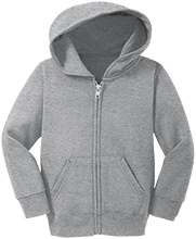 Fitness Toddler Full Zip Hoodie