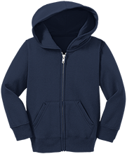 Elmer Avenue Elementary School School Toddler Full Zip Hoodie