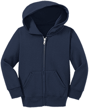 Clover Middle School Eagles Toddler Full Zip Hoodie
