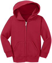 Portales High School Rams Toddler Full Zip Hoodie