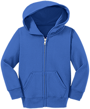 Blue Mountain Union School Bmu Bucks Toddler Full Zip Hoodie