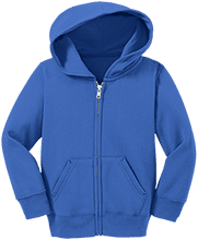 Anthony's Alligators Toddler Full Zip Hoodie