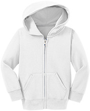 Pierce Public High School Bluejays Toddler Full Zip Hoodie