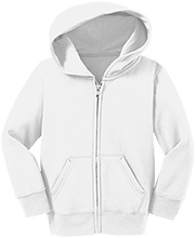 Deerfield Run Elementary School Deer Toddler Full Zip Hoodie