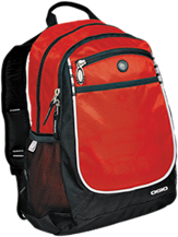 Calvary Christian School Flames Rugged Bookbag