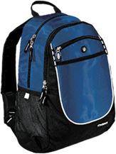 Mother Mary School Royals Rugged Bookbag