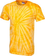 Softball Customized 100% Cotton Tie Dye T-Shirt