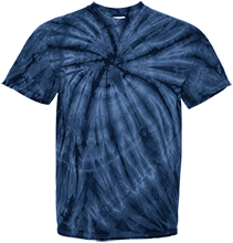 School Band Customized 100% Cotton Tie Dye T-Shirt