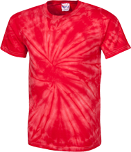 School Customized 100% Cotton Tie Dye T-Shirt