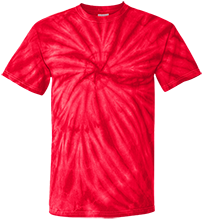 Breast Cancer Customized 100% Cotton Tie Dye T-Shirt
