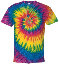 Rock Ledge Elementary School Raccoons Youth Tie Dye T-shirt