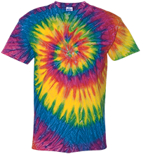 Dupo Junior Senior High School Tigers Youth Tie Dye T-shirt