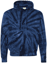 Emt Unisex Tie-Dyed Pullover Hoodie with Front Pocket