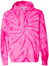 Hazleton Area JR H.S. School Unisex Tie-Dyed Pullover Hoodie with Front Pocket