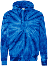 Middletown High School Cavaliers Unisex Tie-Dyed Pullover Hoodie with Front Pocket