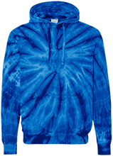 Malverne High School Unisex Tie-Dyed Pullover Hoodie with Front Pocket