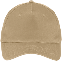 Bible Center Christian School Five Panel Twill Cap