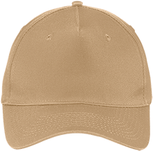 Coe College School Five Panel Twill Cap