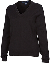 Bryant Elementary School School Ladies Customized V-Neck Sweater
