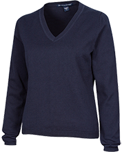 Annunciation School School Ladies Customized V-Neck Sweater