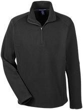 School Men's 1/2 Zip Sweater Fleece