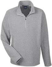 Accomodation Middle School School Men's 1/2 Zip Sweater Fleece