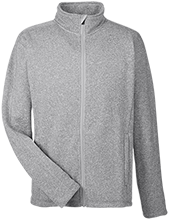 Accomodation Middle School School Men's Full Zip Sweater Fleece