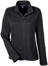Wadsworth Middle School Ladies Full Zip Sweater Fleece