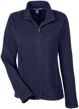 Seward High School Bluejays Ladies Full Zip Sweater Fleece