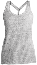 Manchester East Soccer Ladies Cosmic Twist Back Tank