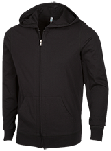 High School Lightweight Full Zip Hoodie