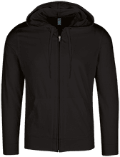 Graphic Design Lightweight Full Zip Hoodie