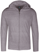 Accomodation Middle School School Lightweight Full Zip Hoodie