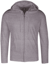 Capital Christian School Conquers Lightweight Full Zip Hoodie