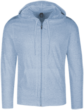 Kingston Elementary School Owls Lightweight Full Zip Hoodie