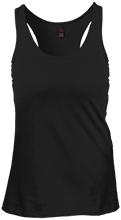 Carey Junior High School Braves Juniors Create Your Own Racerback Tank Top