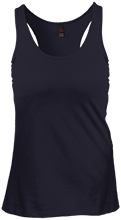 Pope John XXIII HS Lions Juniors Create Your Own Racerback Tank Top