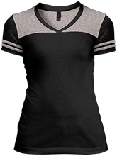 Chiniak Elementary School School Juniors Varsity V-Neck T-Shirt