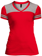 Progreso Primary School Red Ants Juniors Varsity V-Neck T-Shirt