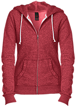 Vera Kilpatrick Elementary School Razorbacks Juniors Custom Embroidered Fitted Full-Zip Hoodie