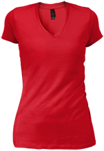 North Quincy High School Red Raiders Junior Vintage Wash V-neck T-Shirt