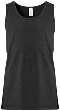 Manchester East Soccer Girl's 100% Cotton Tank Top
