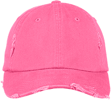 Lansing Eastern High School Quakers District Distressed Dad Cap