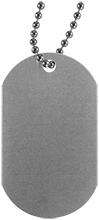 Johnson College Prep Pumas Silver Dog Tag