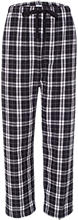 Ella C Pittman Elementary School Pandas Unisex Custom Embroidered Flannel Pants