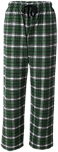 Linkhorne Elementary School Lynx Unisex Custom Embroidered Flannel Pants