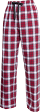 Grace Christian High School Grizzlies Unisex Custom Embroidered Flannel Pants