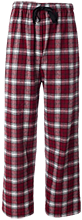 Bush Elementary School Tigers Unisex Custom Embroidered Flannel Pants