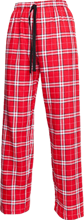 Shaw High School Cardinals Unisex Custom Embroidered Flannel Pants