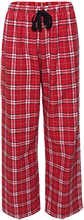 Hoboken High School Red Wings Youth Custom Embroidered Flannel Pants